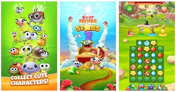 Best Fiends Stars Characters
