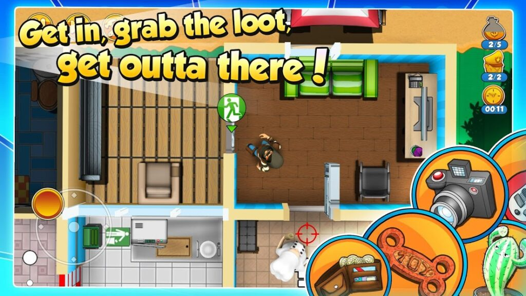 Offline Android Game Robbery Rob 2