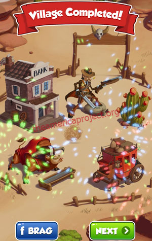 Coin Master Village 15: Wild West Completed