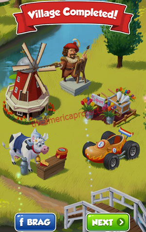 Coin Master Village 16: Netherland Completed