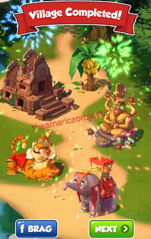 Coin Master Village 17: Jungle Completed