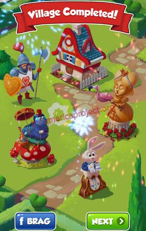 Coin Master Village 18: Wonderland Completed