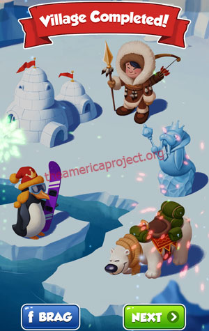 Coin Master Village 20: The Arctic Completed