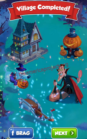 Coin Master Village 24: Halloween Completed