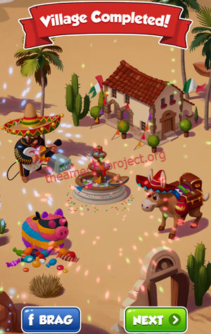 Coin Master Village 28: Mexico Completed