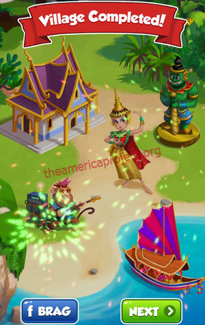 Coin Master Village 32: Thailand Completed