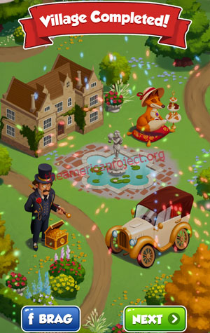 Coin Master Village 33: Coin Manor Completed