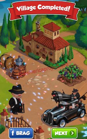 Coin Master Village 39: La Familia Completed