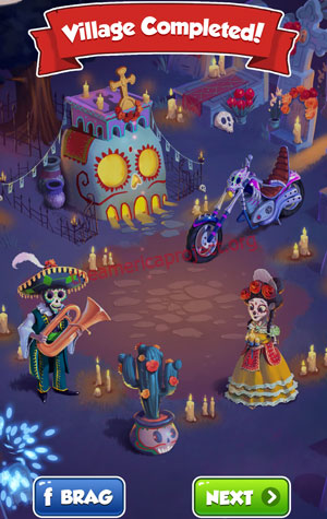 Coin Master Village 41: Night of the Dead Completed