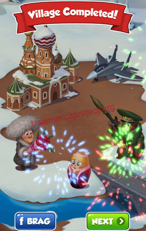 Coin Master Village 44: Russia Completed