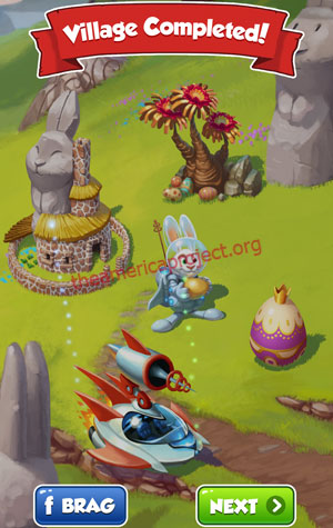 Coin Master Village 50: Easter Completed