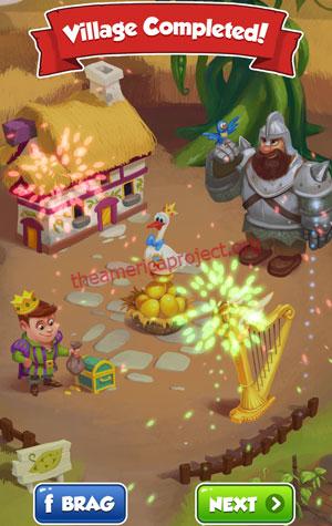 Coin Master Village 58: Jacks Beanstalks Completed