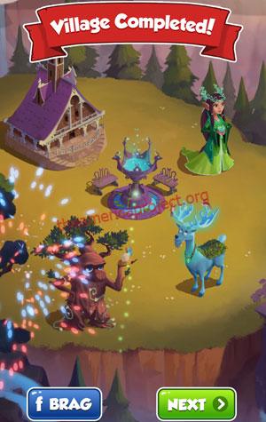 Coin Master Village 70: Elves Completed