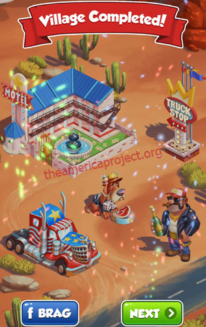 Coin Master Village 72: Truckers Completed