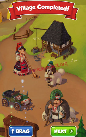 Coin Master Village 77: Romania Completed