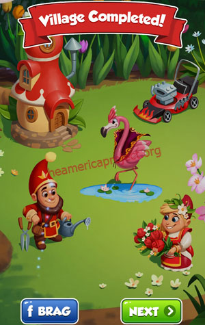 Coin Master Village 84: Gnome Completed