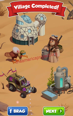 Coin Master Village 85: Desert Punk Completed