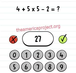 Brain Test Level 15 Answer