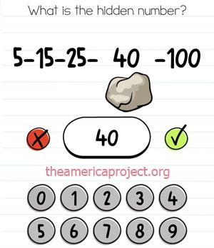 Brain Test Level 17 Answer