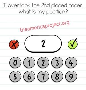 Brain Test Level 6 Answer