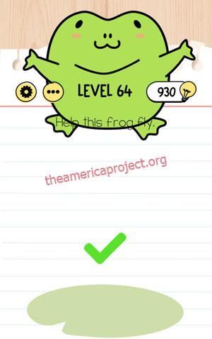 Brain Test Level 64 Answer