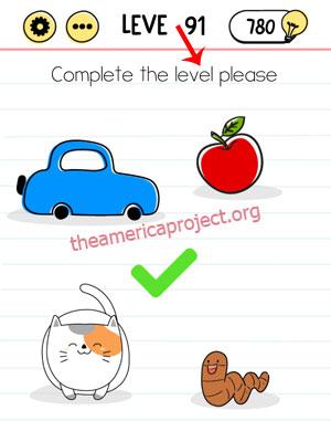 Brain Test Level 91 Answer