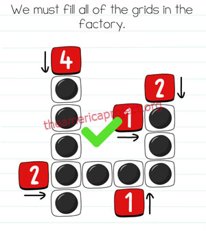 Brain Test Level 213 Answer