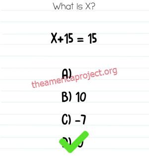 Brain Test Level 230 Answer