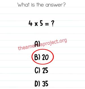 Brain Test Level 275 Answer